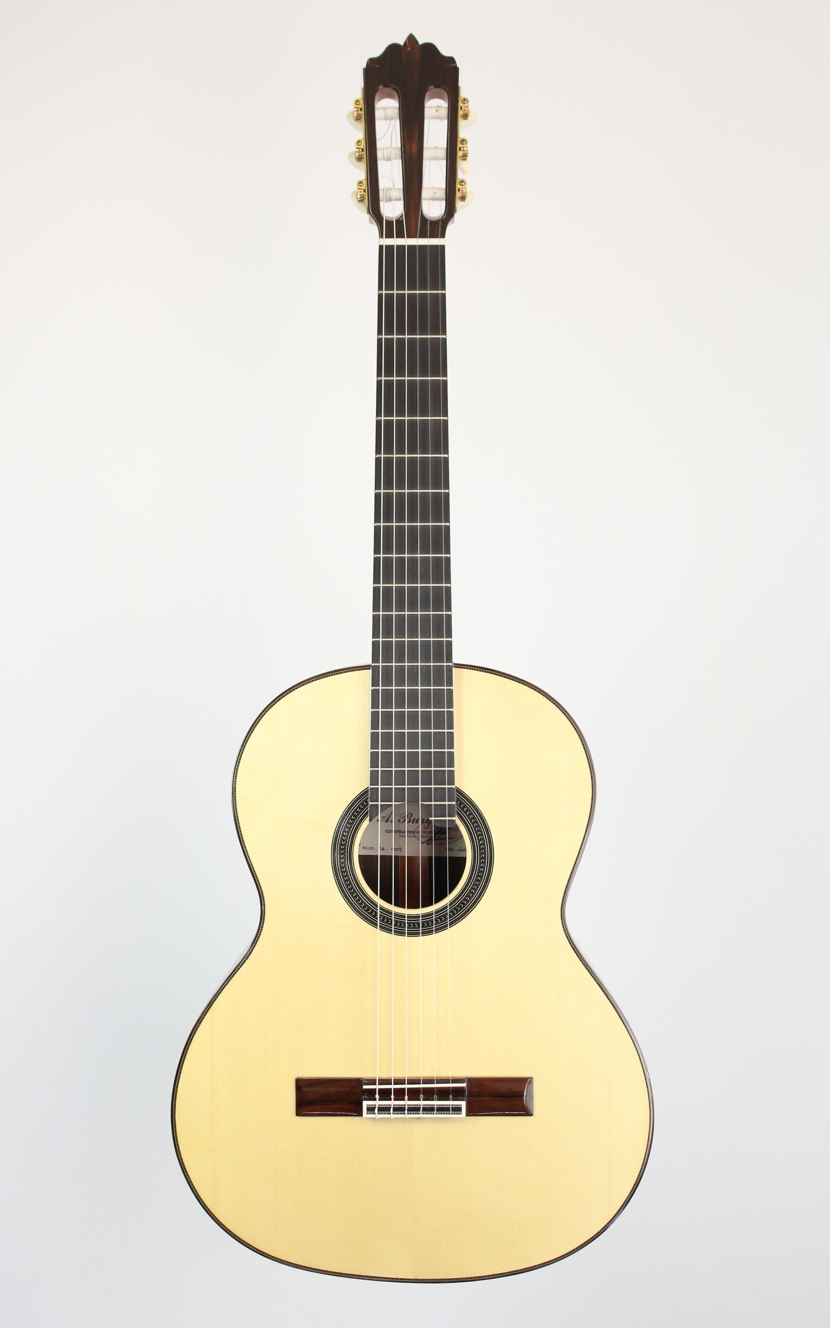 Amalio Burguet - 1A Fichte - Gitarren - Konzertgitarren | MUSIK BERTRAM Deutschland Freiburg