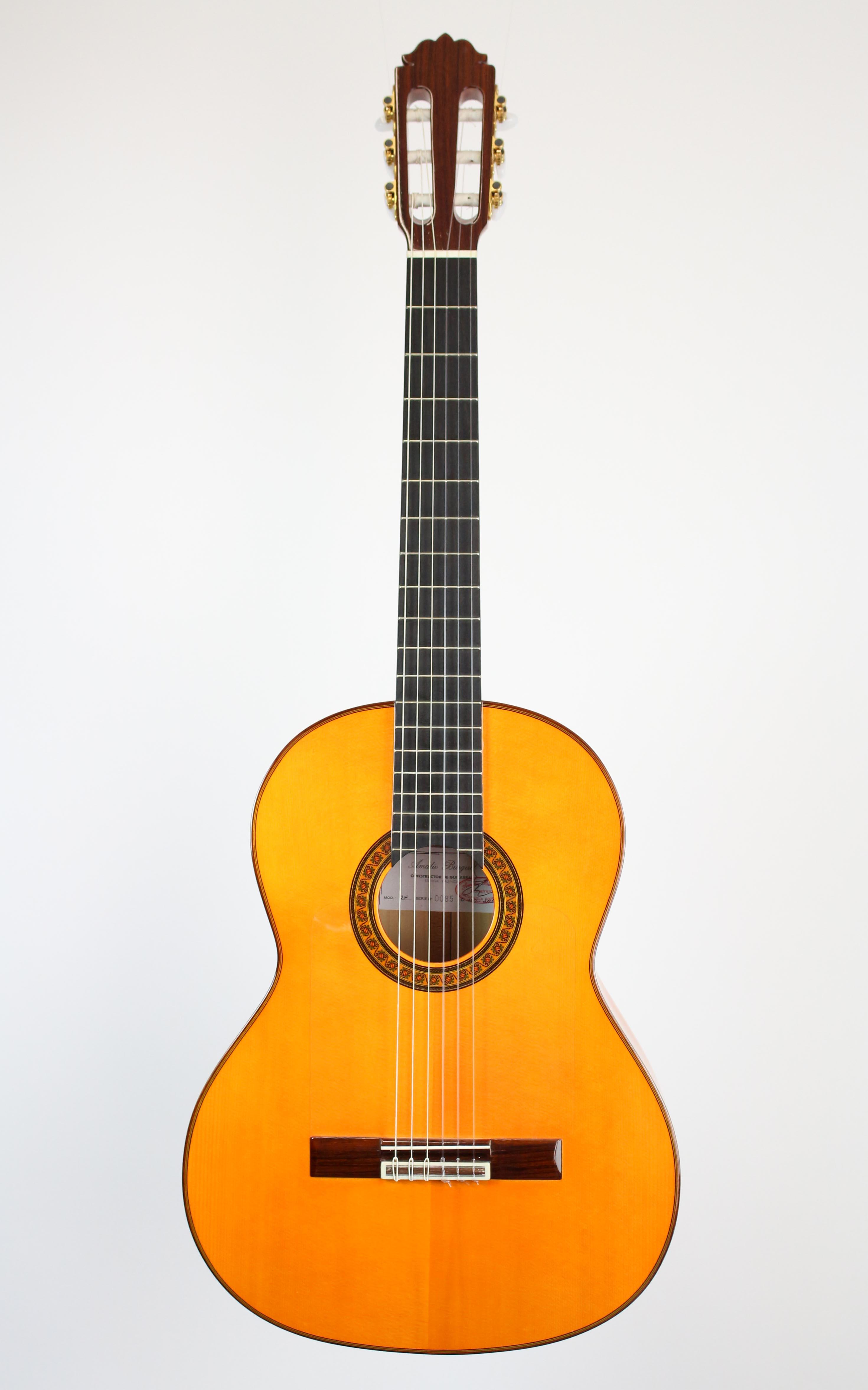 Amalio Burguet - 2F Flamenco - Gitarren - Konzertgitarren | MUSIK BERTRAM Deutschland Freiburg