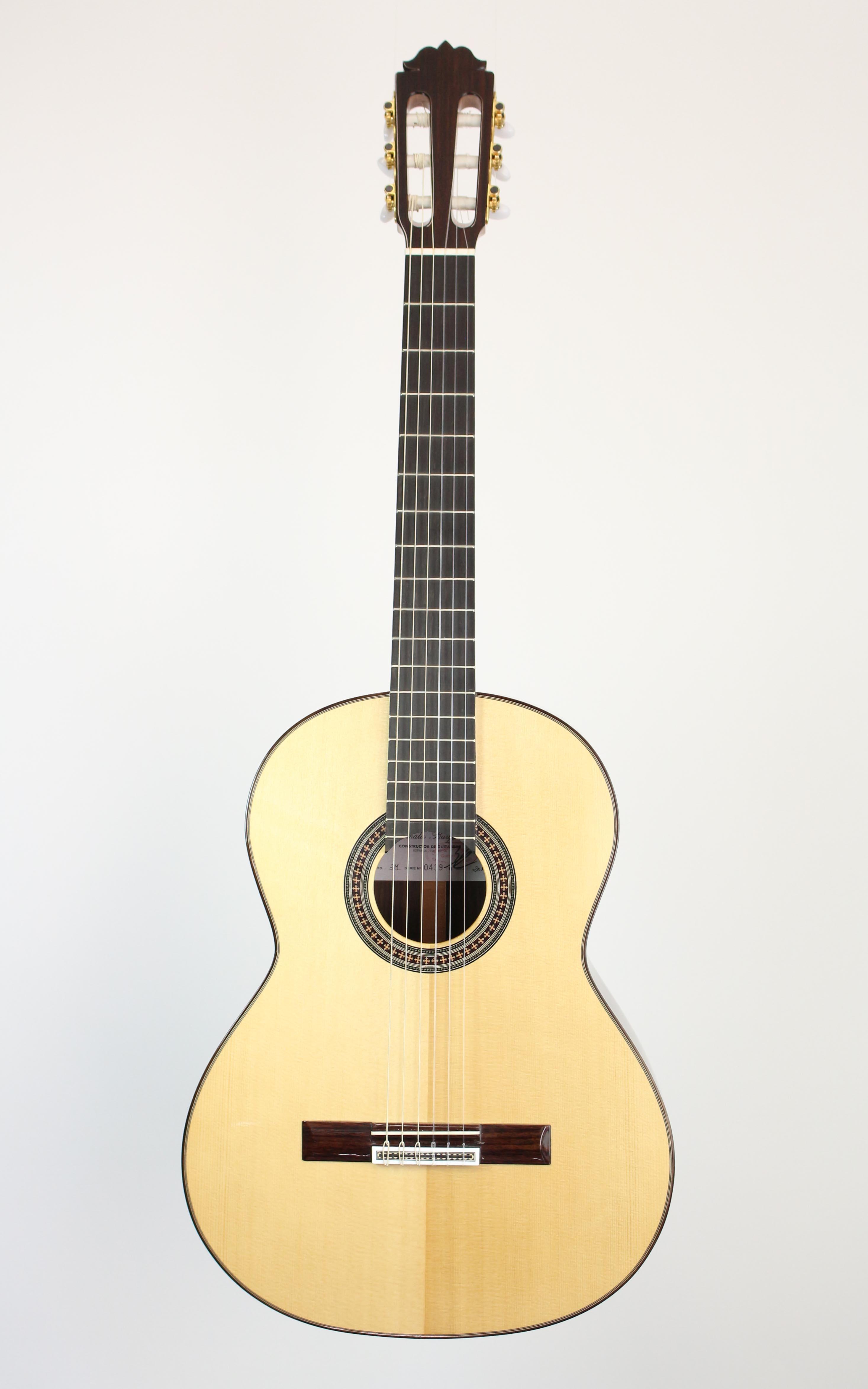 Amalio Burguet - 3M Fichte - Gitarren - Konzertgitarren | MUSIK BERTRAM Deutschland Freiburg