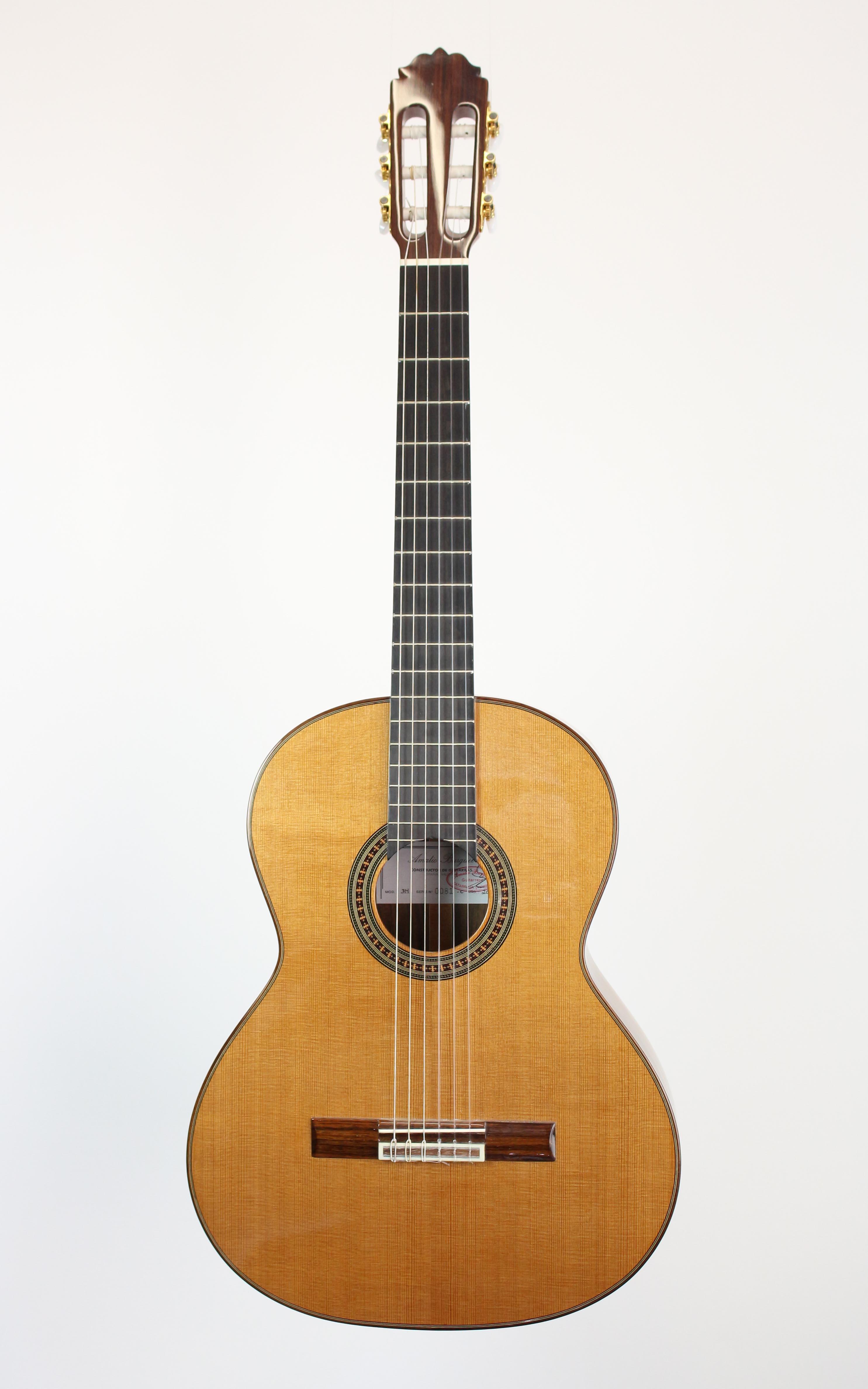 Amalio Burguet - 3M Zeder - Gitarren - Konzertgitarren | MUSIK BERTRAM Deutschland Freiburg