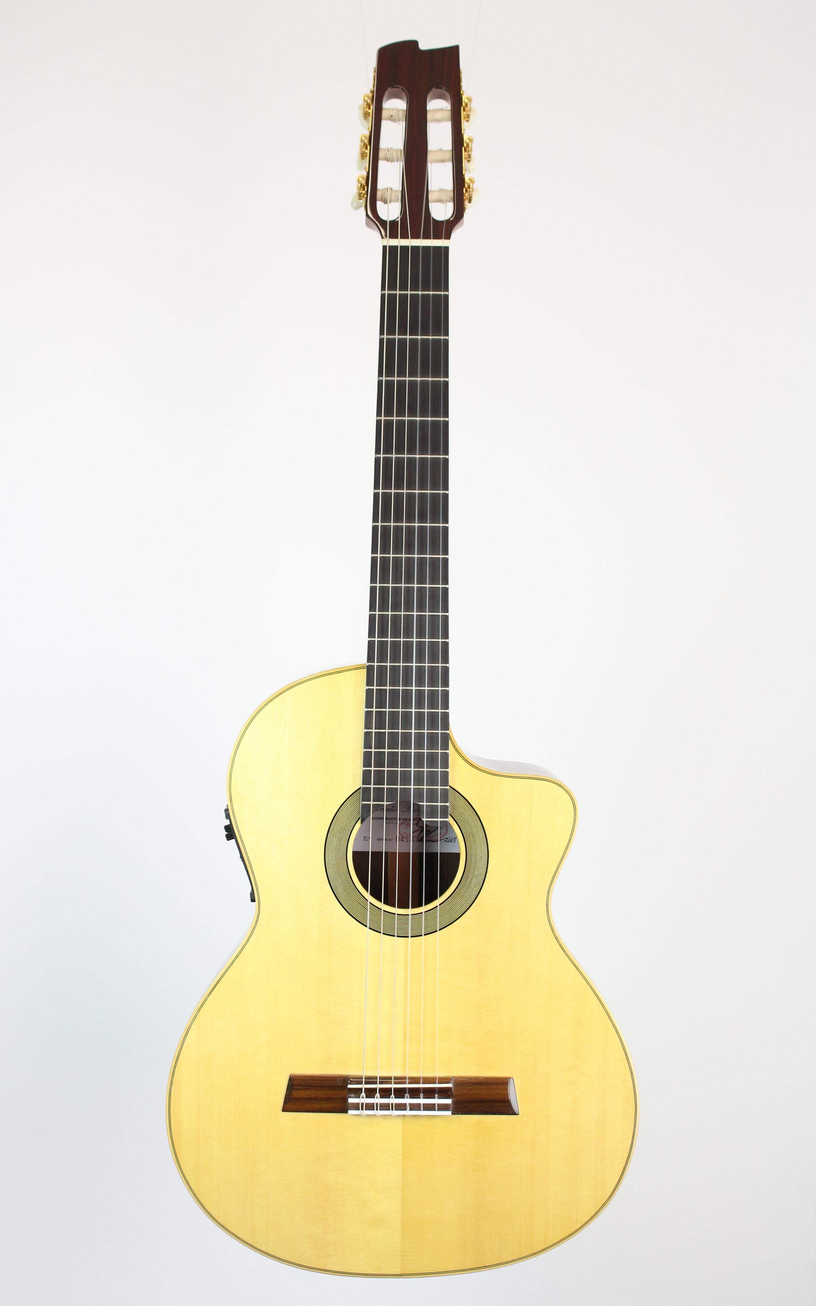 Amalio Burguet - E-1 - Gitarren - Konzertgitarren | MUSIK BERTRAM Deutschland Freiburg