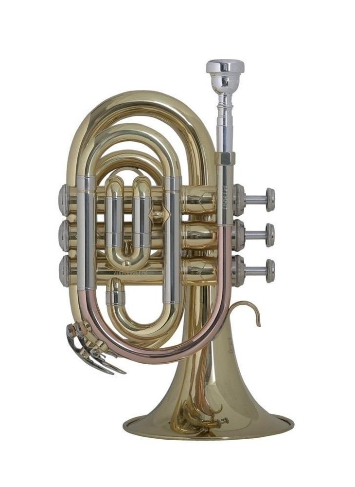 Bach - PT650 - Taschentrompete - Blechblasinstrumente - Trompeten mit Perinet-Ventilen | MUSIK BERTRAM Deutschland Freiburg