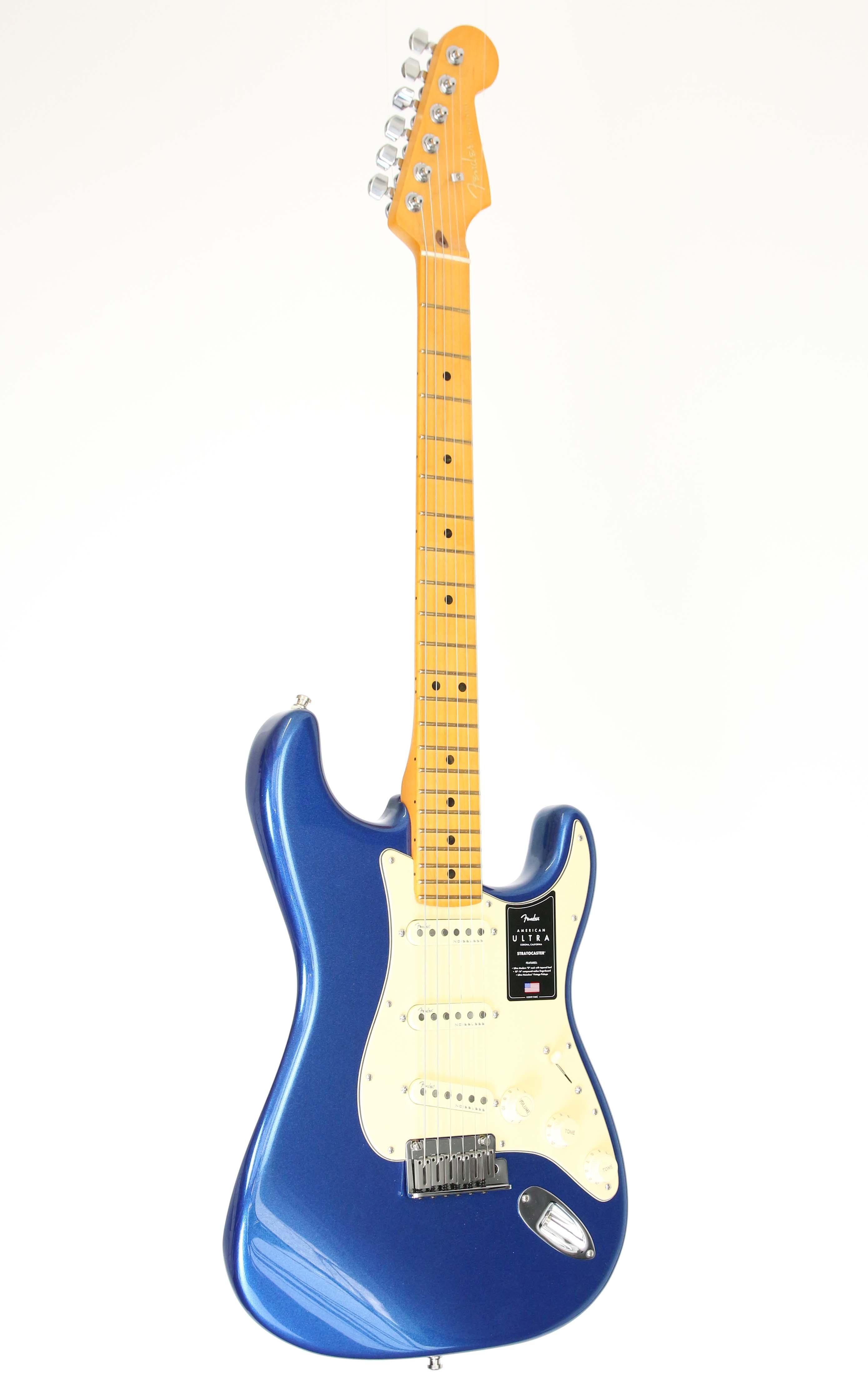 Fender - AM Ultra Strat MN Cobra Blue - Gitarren - E-Gitarren | MUSIK BERTRAM Deutschland Freiburg