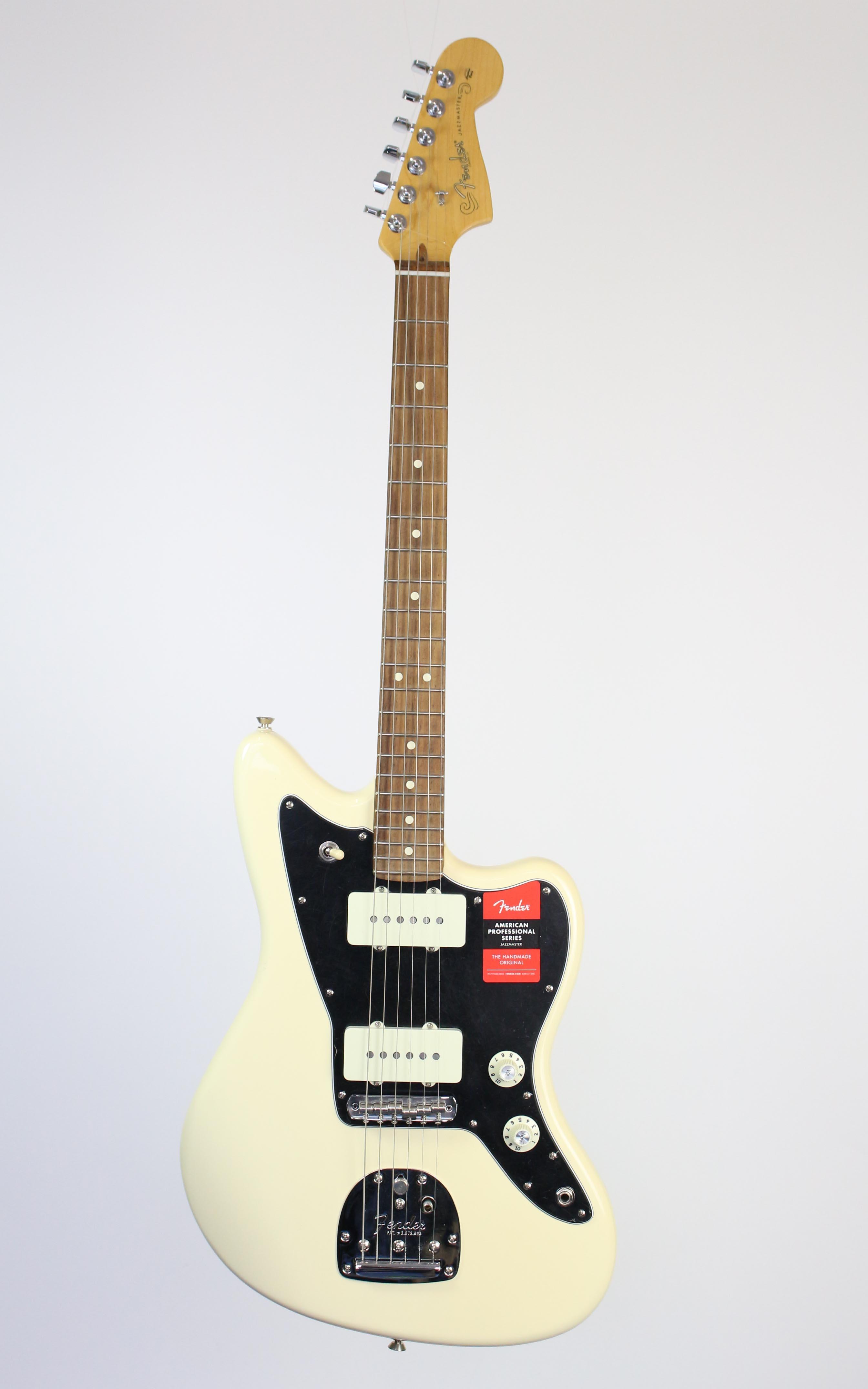Fender - American Pro Jazzmaster RW Olympic White - Gitarren - E-Gitarren | MUSIK BERTRAM Deutschland Freiburg