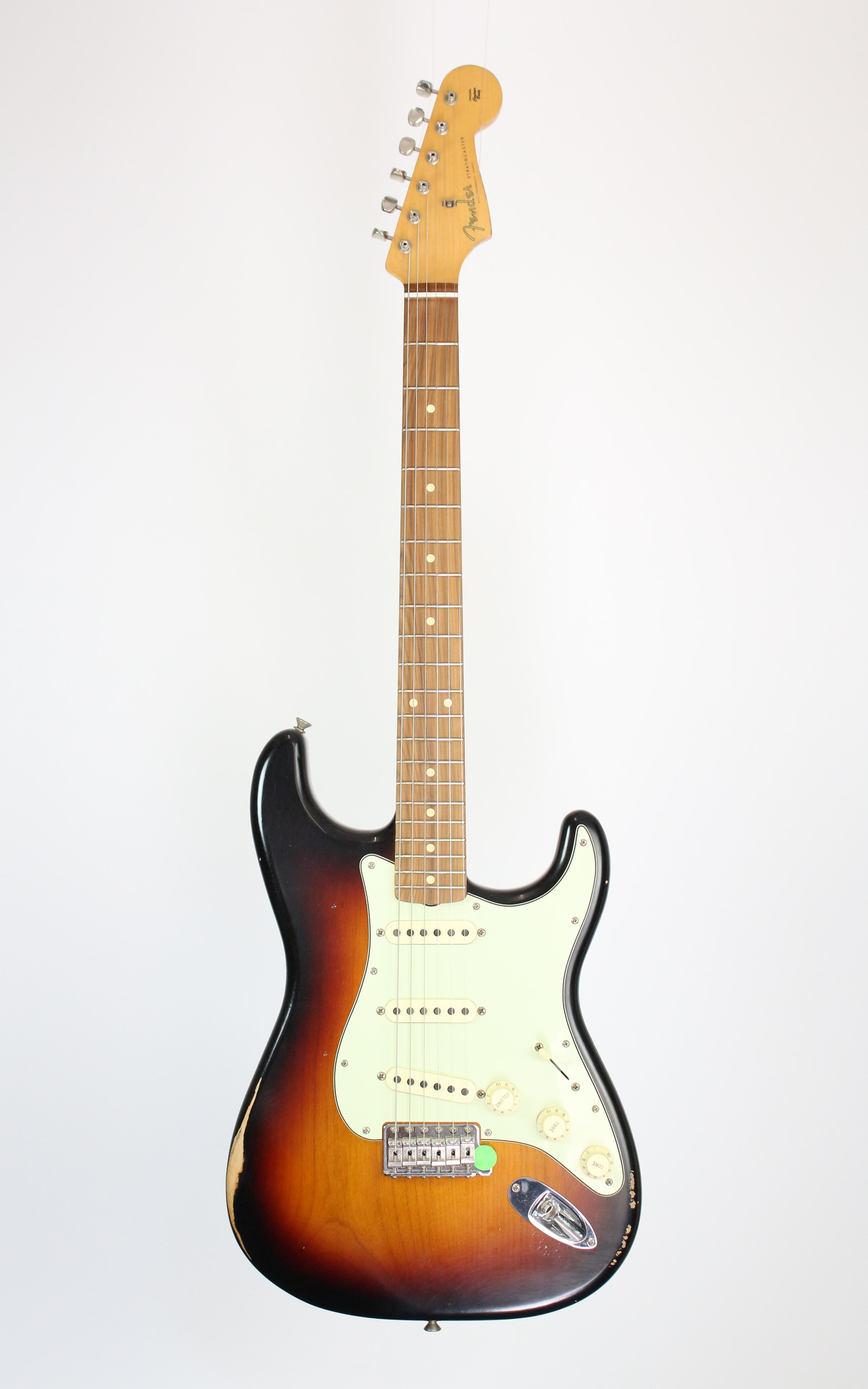 Fender - Road Worn 60s Strat PF 3TSB - Gitarren - E-Gitarren | MUSIK BERTRAM Deutschland Freiburg
