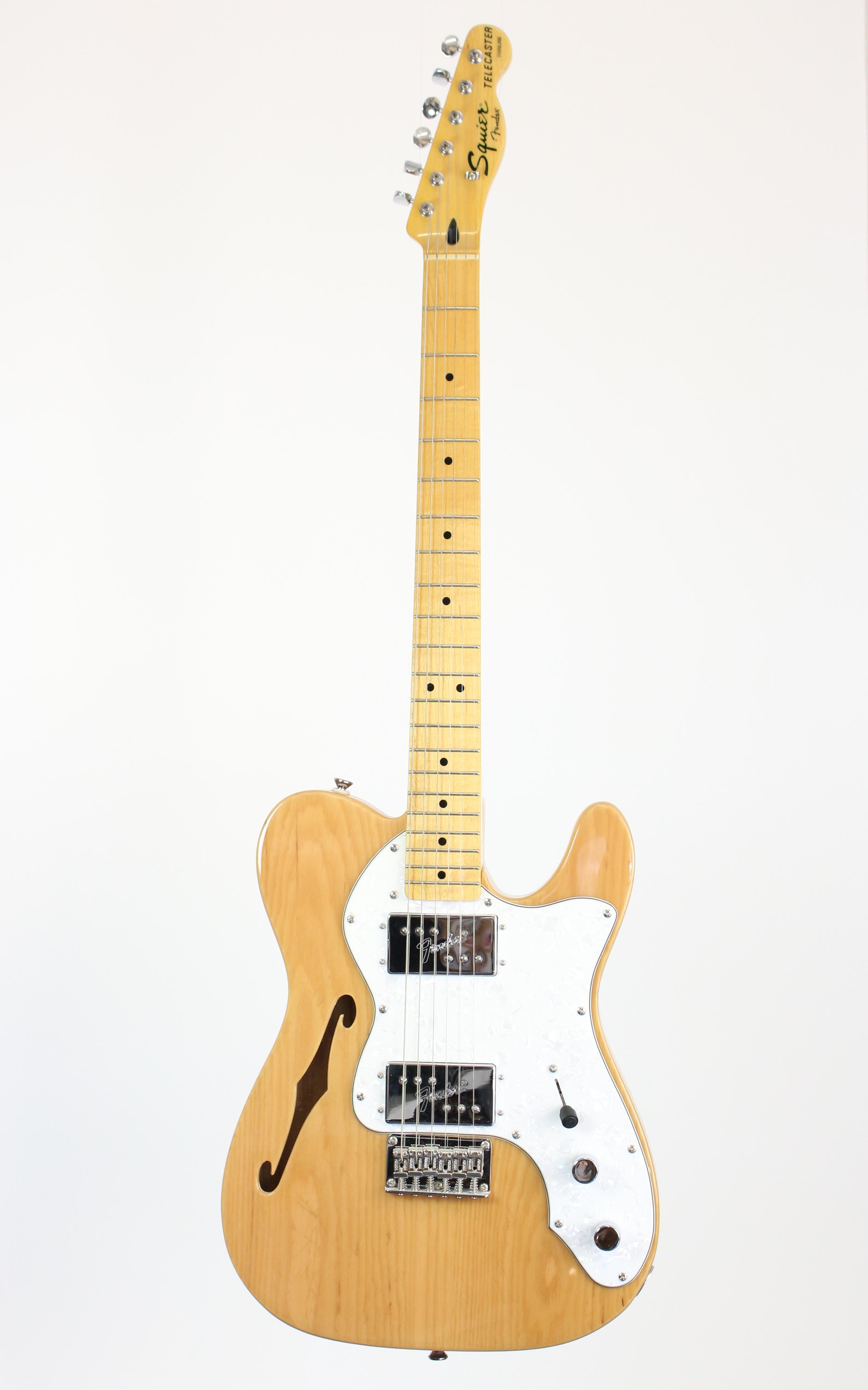 Fender Squier - CV 70s Tele Thinline MN NAT - Gitarren - E-Gitarren | MUSIK BERTRAM Deutschland Freiburg