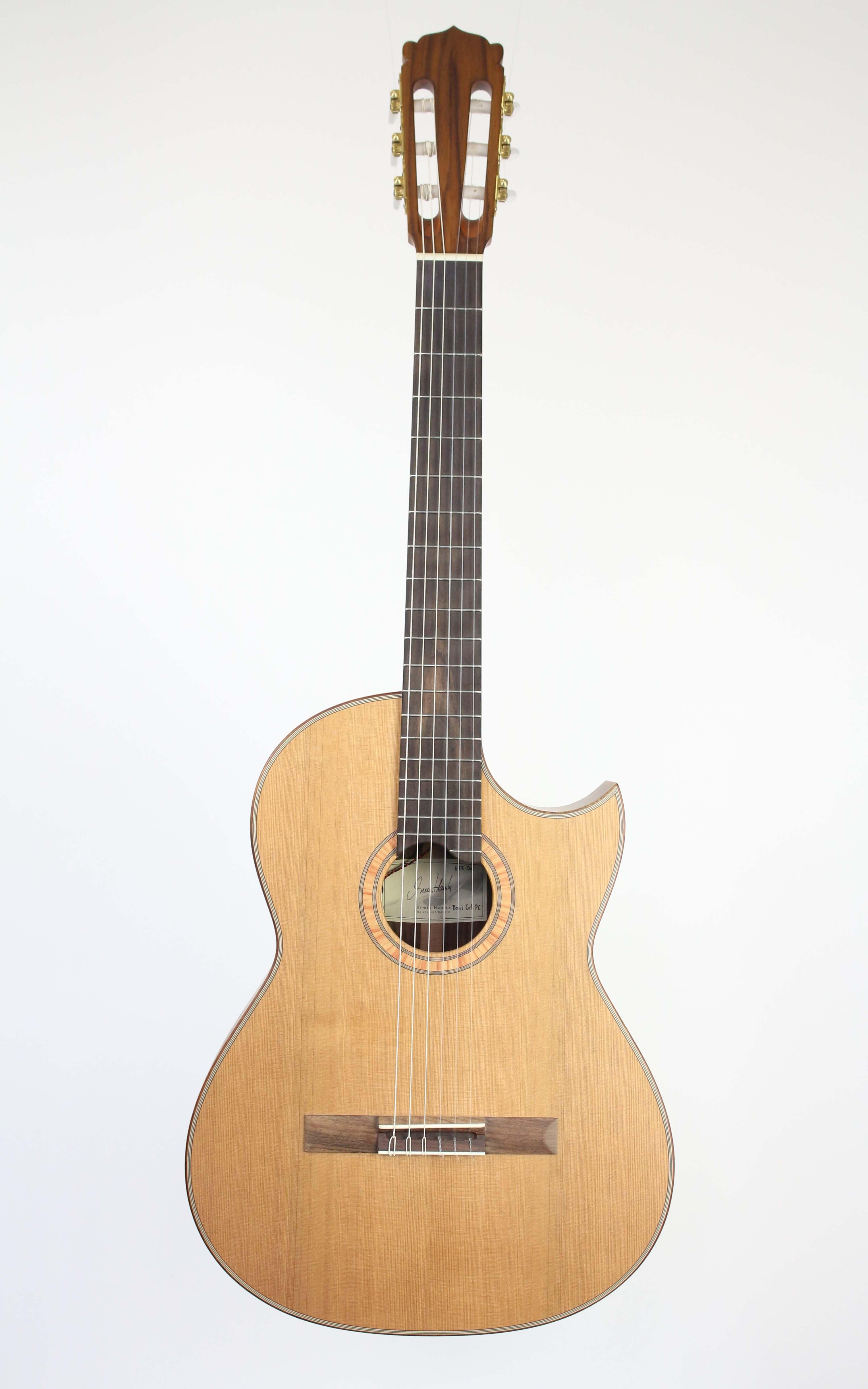 Hanika - Basic Cut PC Udo Rösner Design DOT Pickup - Gitarren - Konzertgitarren | MUSIK BERTRAM Deutschland Freiburg
