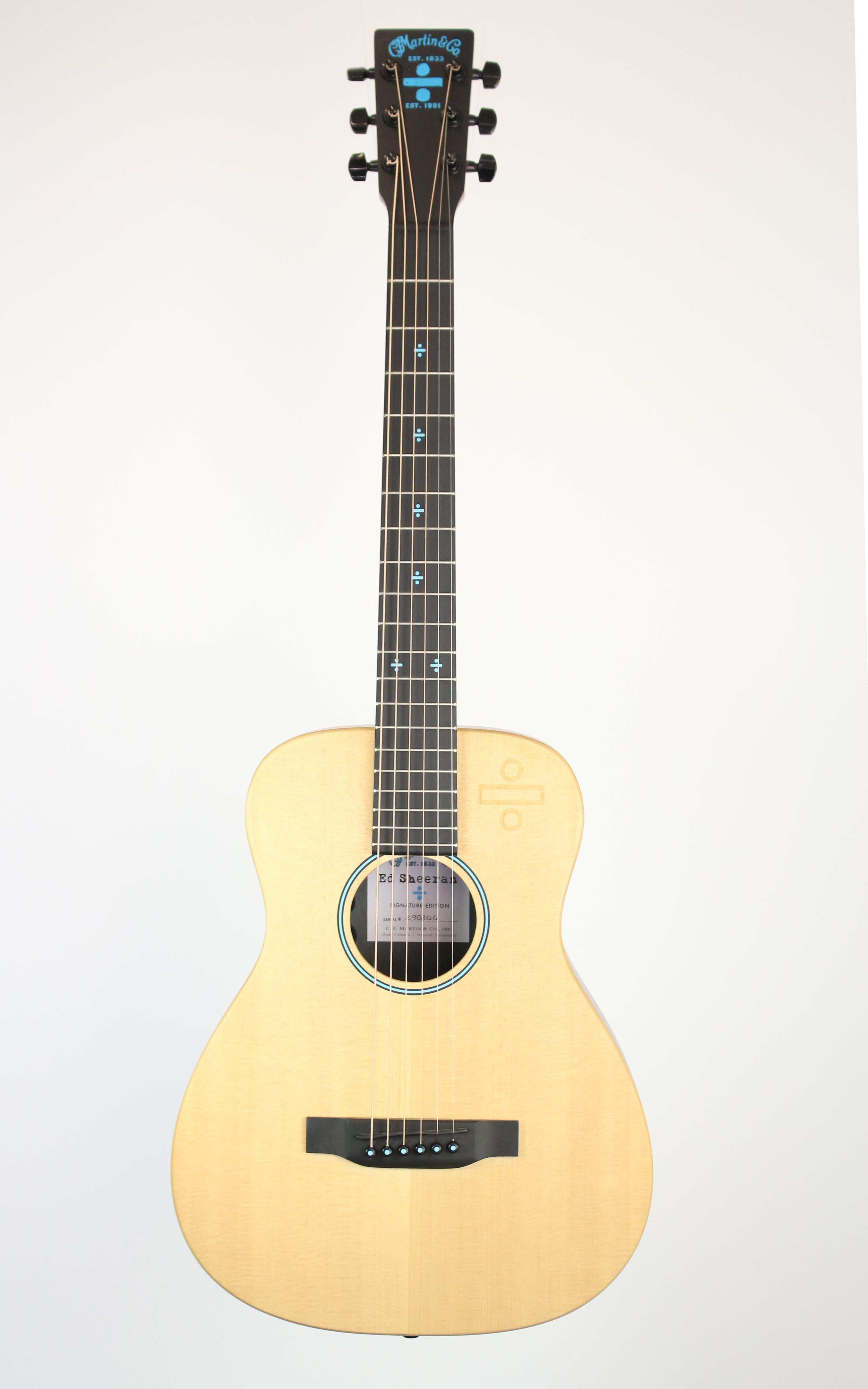 Martin - Ed Sheeran Divide Signature Edition - Gitarren - Westerngitarren | MUSIK BERTRAM Deutschland Freiburg