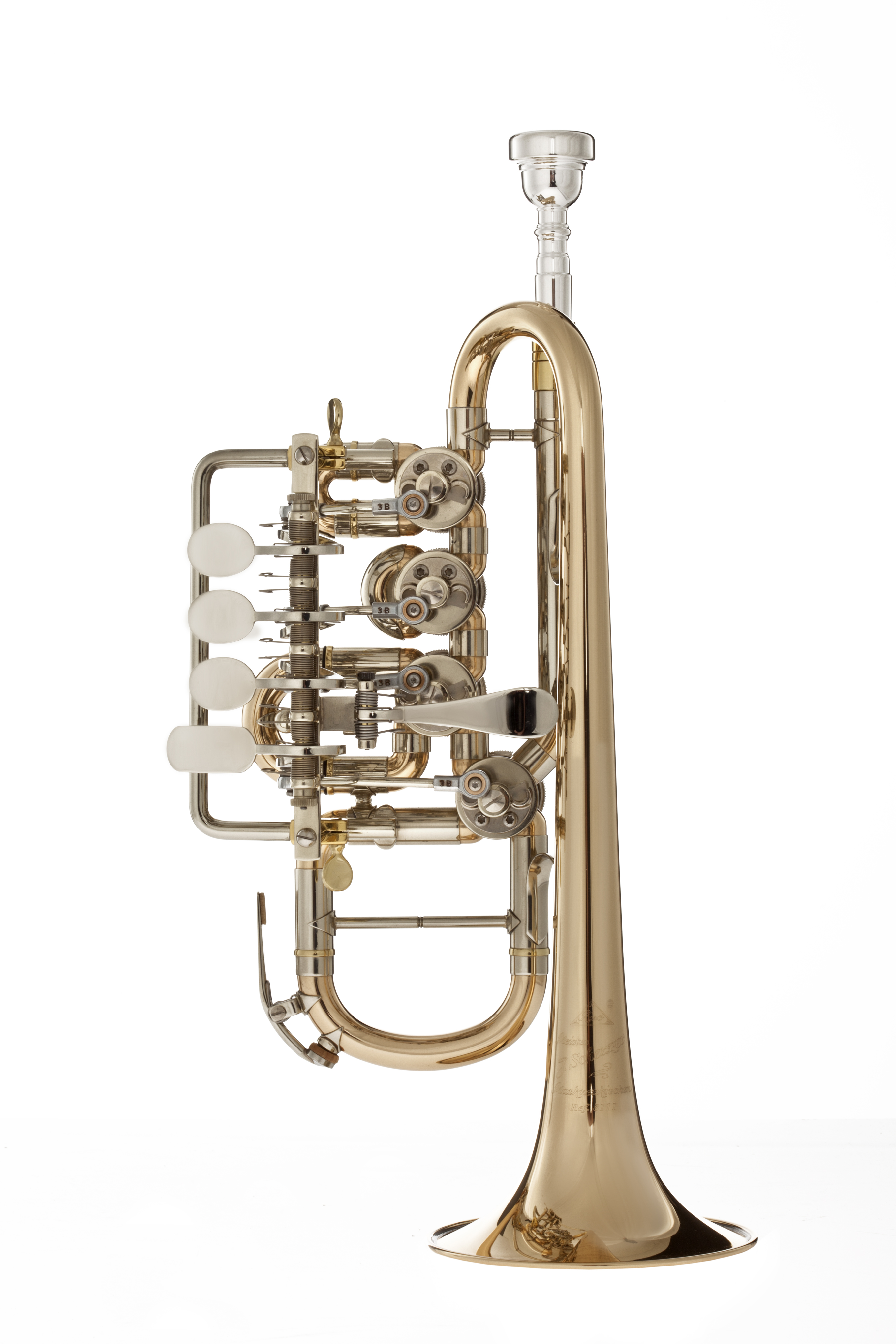 Scherzer - JS - 8111G - 1 - 0D - Blechblasinstrumente - Trompeten mit Drehventilen | MUSIK BERTRAM Deutschland Freiburg