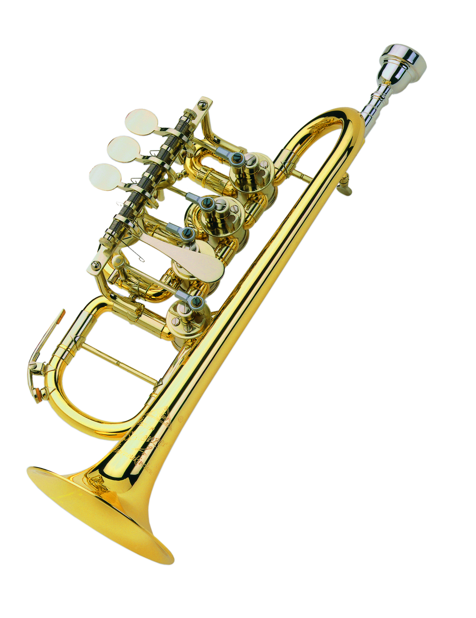 Scherzer - JS - 8112G - 1 - 0D - Blechblasinstrumente - Trompeten mit Drehventilen | MUSIK BERTRAM Deutschland Freiburg