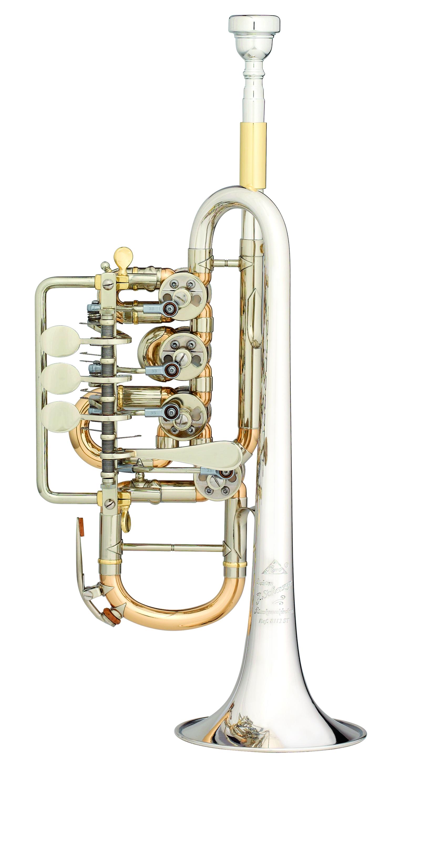 Scherzer - JS - 8112ST - 1 - 0D - Blechblasinstrumente - Trompeten mit Drehventilen | MUSIK BERTRAM Deutschland Freiburg
