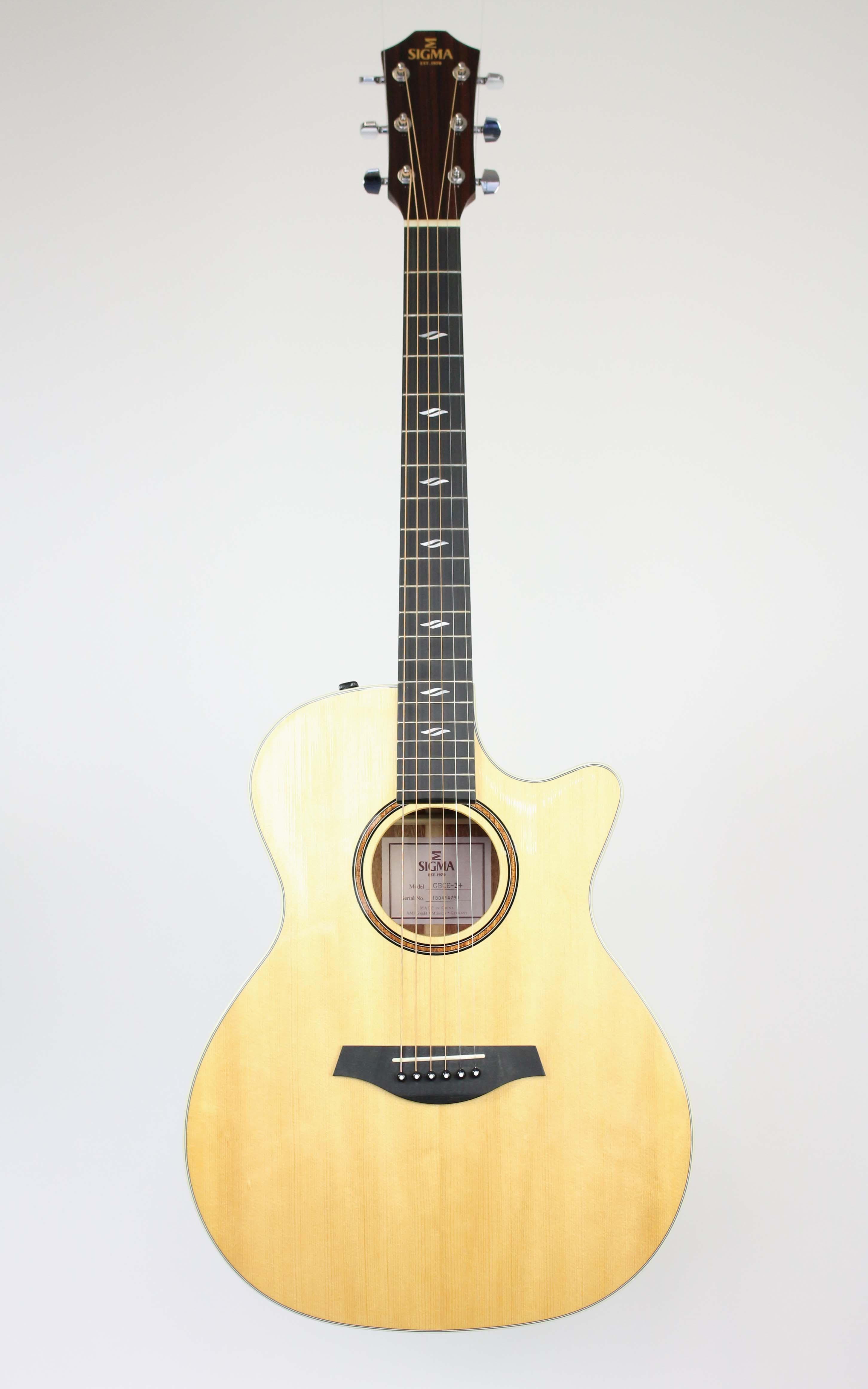 Sigma - GBCE-2+ - Gitarren - Westerngitarren | MUSIK BERTRAM Deutschland Freiburg