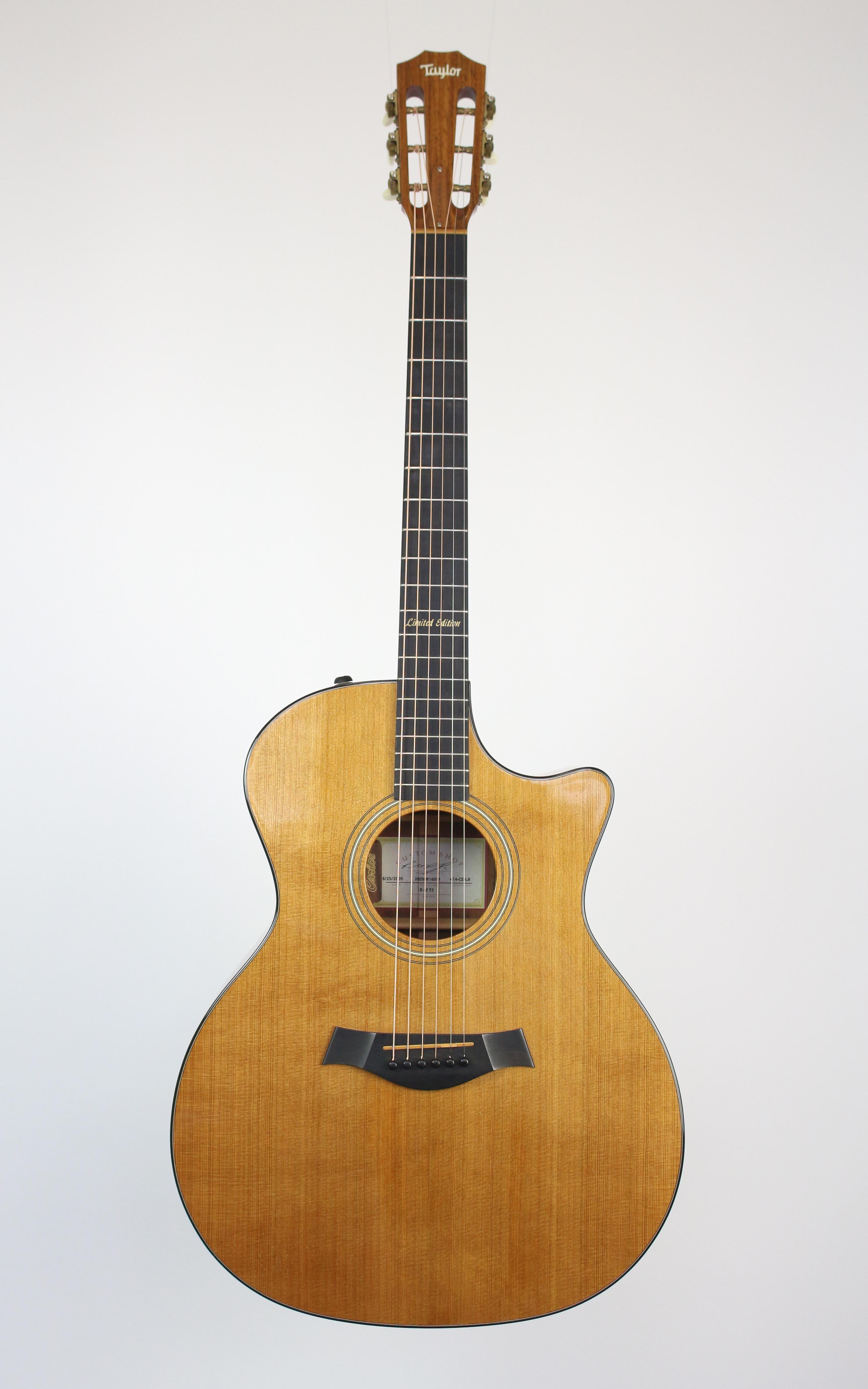 Taylor - 414ce LTD L-8 Carlos Pickup High End - Gitarren - Westerngitarren | MUSIK BERTRAM Deutschland Freiburg