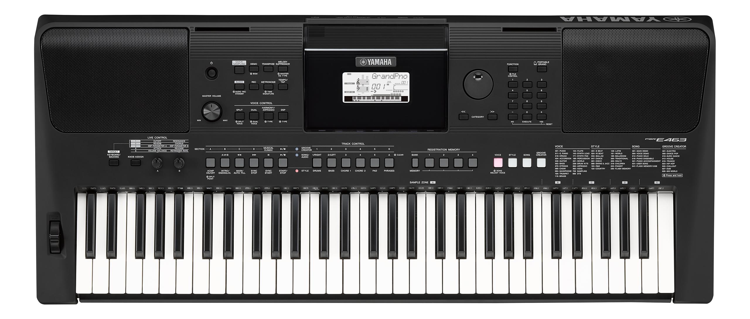 Yamaha - PSR - E463 - Tasteninstrumente - Keyboards | MUSIK BERTRAM Deutschland Freiburg
