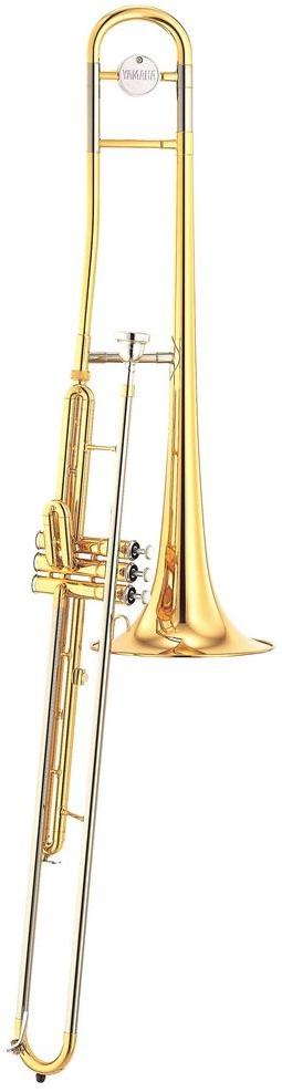 Yamaha - YSL - 354 V - Valve Trombone - Blechblasinstrumente - Posaunen ohne Quartventil   MUSIK BERTRAM Deutschland Freiburg