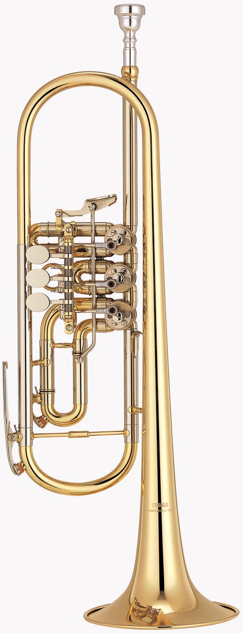 Yamaha - YTR - 436 G - Blechblasinstrumente - Trompeten mit Drehventilen | MUSIK BERTRAM Deutschland Freiburg