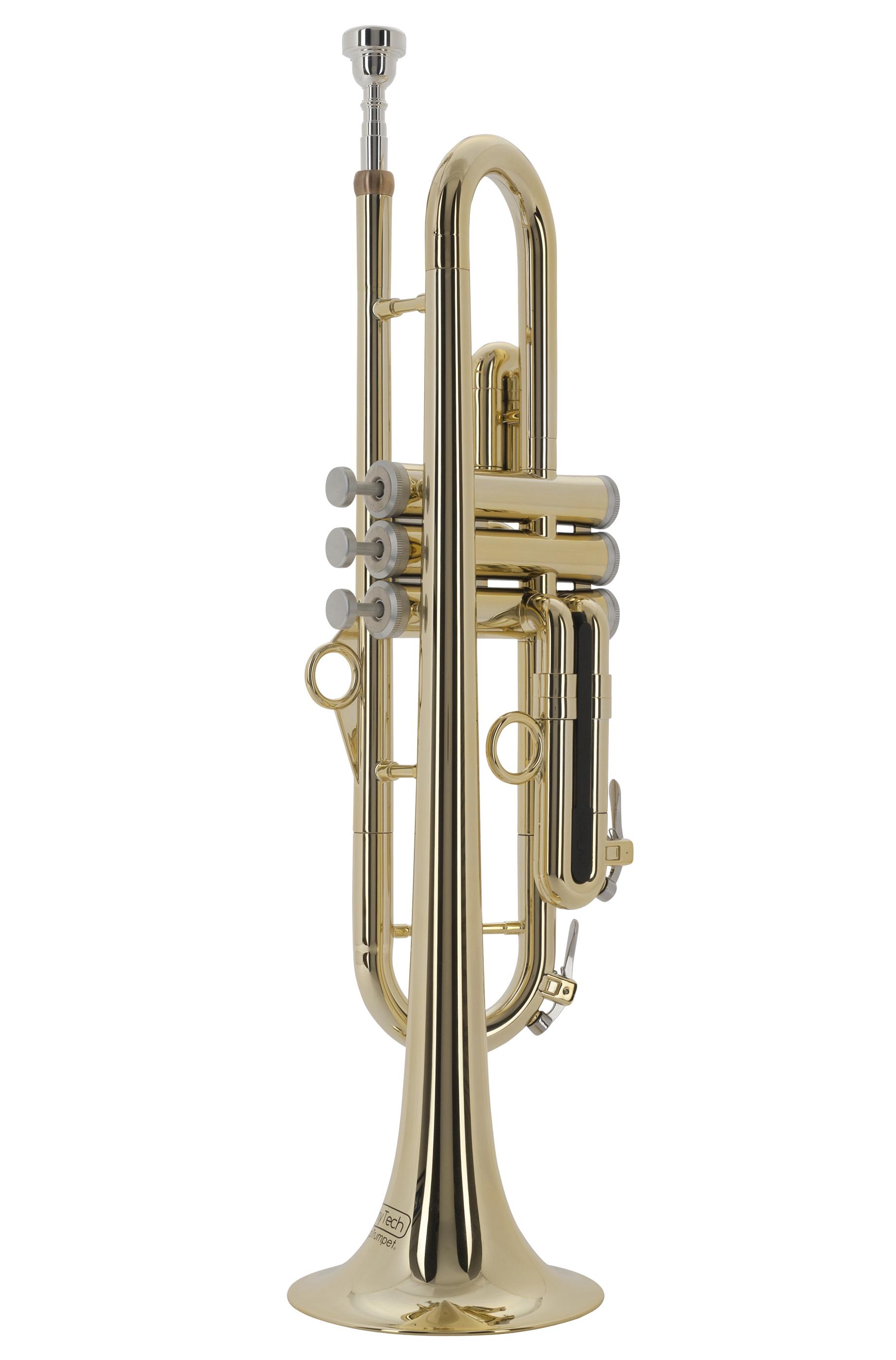 pTrumpet - pTrumpet hyTech - goldfarbig - Blechblasinstrumente - Trompeten mit Perinet-Ventilen | MUSIK BERTRAM Deutschland Freiburg
