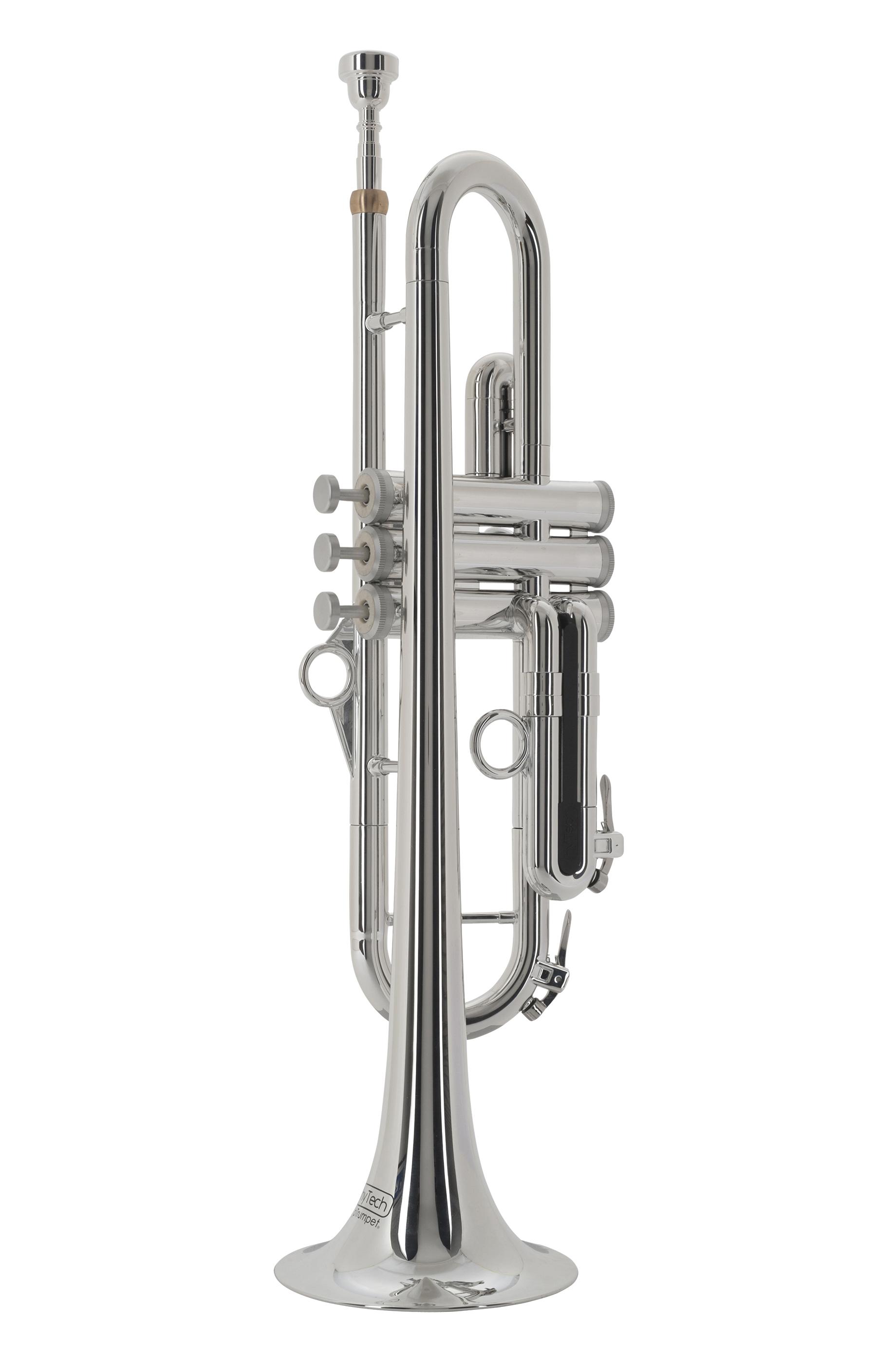pTrumpet - pTrumpet hyTech - silberfarbig - Blechblasinstrumente - Trompeten mit Perinet-Ventilen | MUSIK BERTRAM Deutschland Freiburg